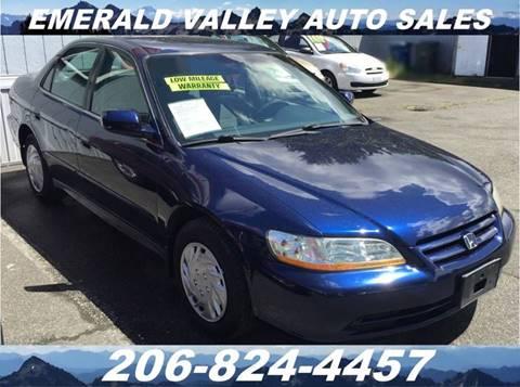 2001 Honda Accord for sale in Des Moines, WA