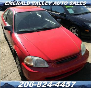 1998 Honda Civic for sale in Des Moines, WA