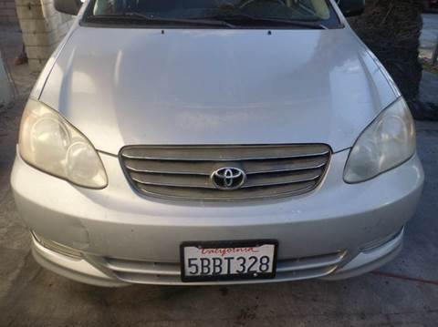 2003 Toyota Corolla for sale at AJ'S Auto Sale Inc in San Bernardino CA
