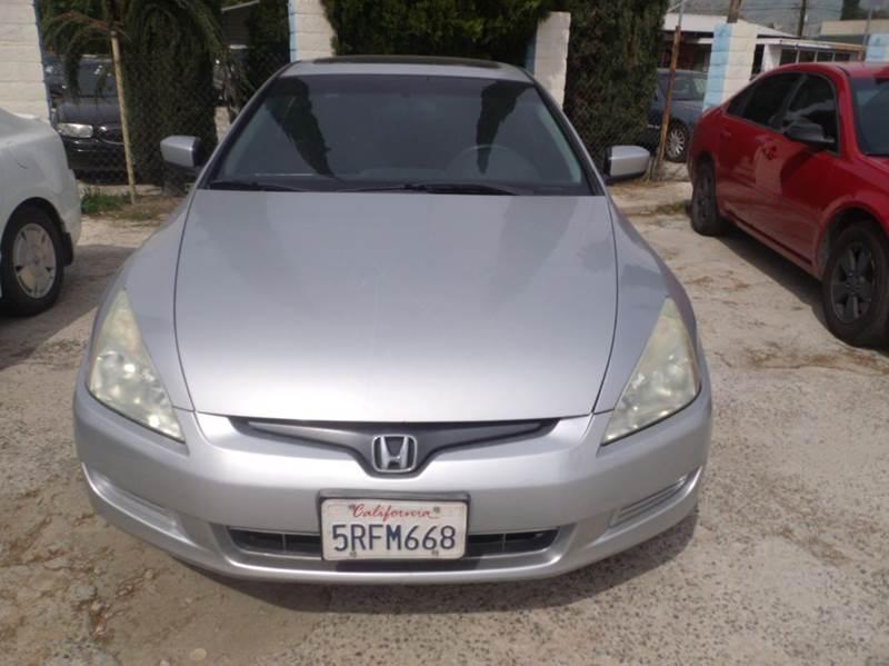2005 Honda Accord LX Special Edition V 6 2dr Coupe   San Bernardino CA