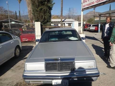 1989 Chrysler New Yorker for sale in San Bernardino, CA