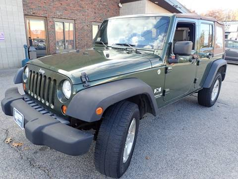 2008 Jeep Wrangler Unlimited for sale in Merrimack, NH