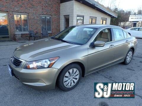 2009 Honda Accord for sale at S & J Motor Co Inc. in Merrimack NH