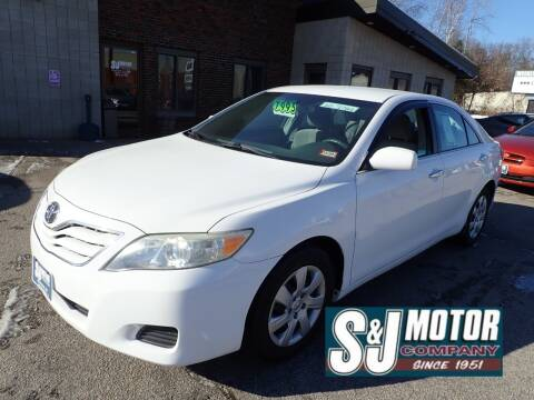 2010 Toyota Camry for sale at S & J Motor Co Inc. in Merrimack NH