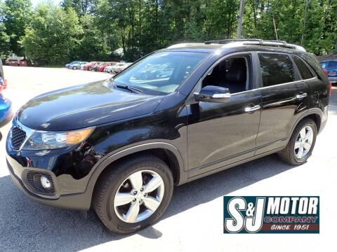 2013 Kia Sorento for sale at S & J Motor Co Inc. in Merrimack NH