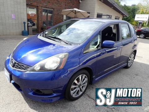 2012 Honda Fit for sale at S & J Motor Co Inc. in Merrimack NH