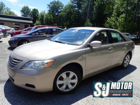 2009 Toyota Camry for sale at S & J Motor Co Inc. in Merrimack NH
