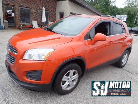 2016 Chevrolet Trax for sale at S & J Motor Co Inc. in Merrimack NH