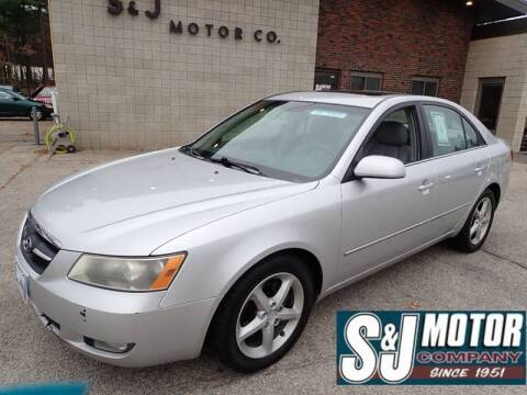 2008 Hyundai Sonata for sale at S & J Motor Co Inc. in Merrimack NH