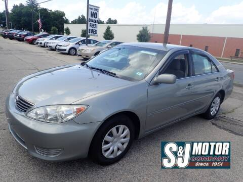 2005 Toyota Camry for sale at S & J Motor Co Inc. in Merrimack NH