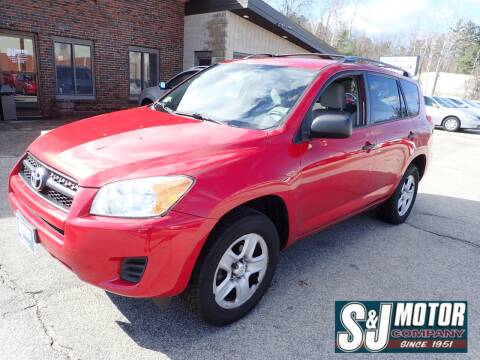 2012 Toyota RAV4 for sale at S & J Motor Co Inc. in Merrimack NH