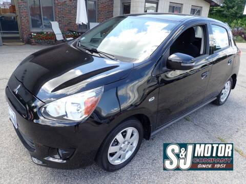 2015 Mitsubishi Mirage for sale at S & J Motor Co Inc. in Merrimack NH