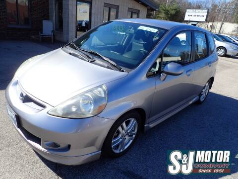 2008 Honda Fit for sale at S & J Motor Co Inc. in Merrimack NH