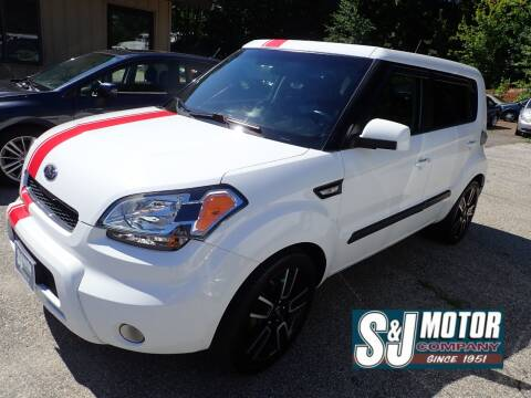 2011 Kia Soul for sale at S & J Motor Co Inc. in Merrimack NH