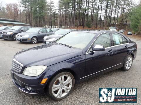 2008 Mercedes-Benz C-Class for sale at S & J Motor Co Inc. in Merrimack NH