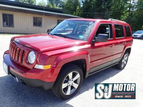 2016 Jeep Patriot for sale at S & J Motor Co Inc. in Merrimack NH