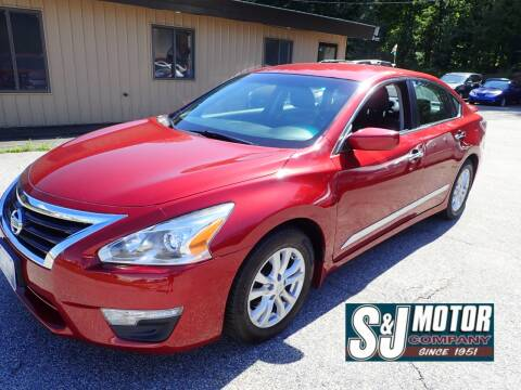 2015 Nissan Altima for sale at S & J Motor Co Inc. in Merrimack NH
