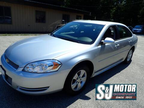 2013 Chevrolet Impala for sale at S & J Motor Co Inc. in Merrimack NH