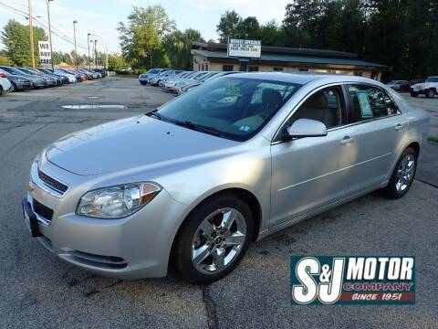 2009 Chevrolet Malibu for sale at S & J Motor Co Inc. in Merrimack NH