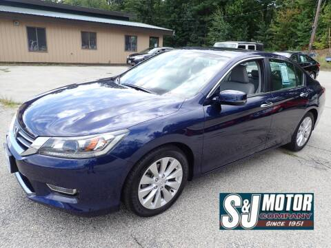 2013 Honda Accord for sale at S & J Motor Co Inc. in Merrimack NH