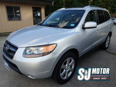 2007 Hyundai Santa Fe for sale at S & J Motor Co Inc. in Merrimack NH