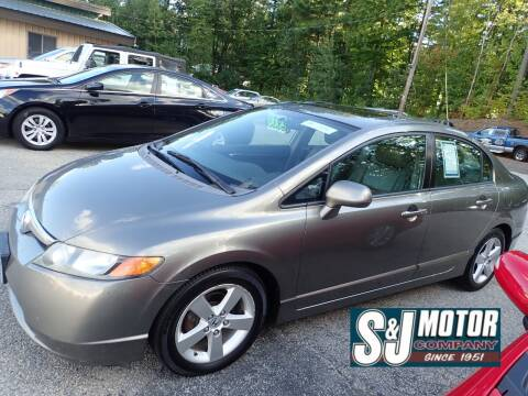 2008 Honda Civic for sale at S & J Motor Co Inc. in Merrimack NH