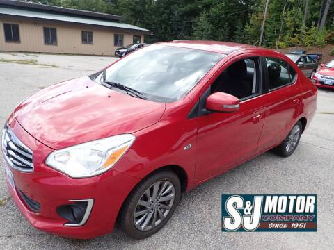 2017 Mitsubishi Mirage G4 for sale at S & J Motor Co Inc. in Merrimack NH