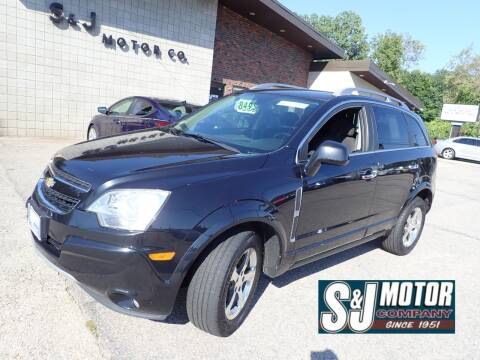 2012 Chevrolet Captiva Sport for sale at S & J Motor Co Inc. in Merrimack NH