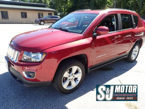 2015 Jeep Compass for sale at S & J Motor Co Inc. in Merrimack NH