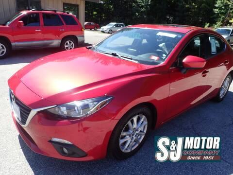 2015 Mazda MAZDA3 for sale at S & J Motor Co Inc. in Merrimack NH