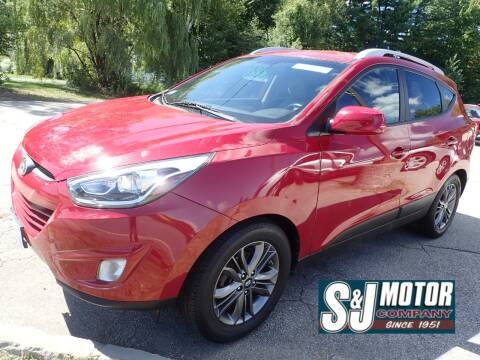 2014 Hyundai Tucson for sale at S & J Motor Co Inc. in Merrimack NH