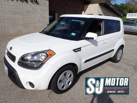 2013 Kia Soul for sale at S & J Motor Co Inc. in Merrimack NH