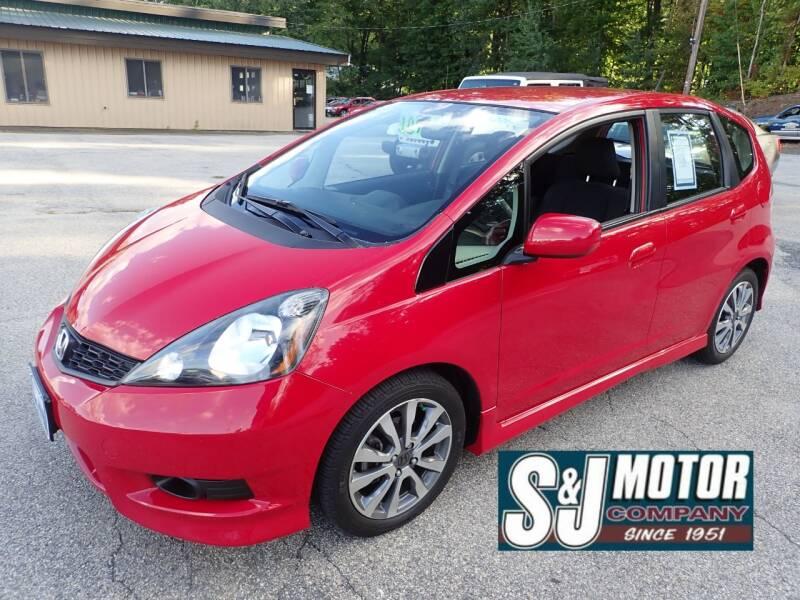 2012 Honda Fit for sale at S & J Motor Co Inc. in Merrimack NH