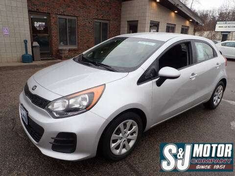 2016 Kia Rio 5-Door for sale at S & J Motor Co Inc. in Merrimack NH