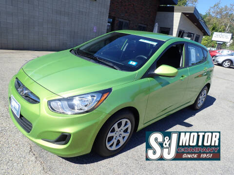2014 Hyundai Accent for sale at S & J Motor Co Inc. in Merrimack NH