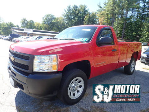 2012 Chevrolet Silverado 1500 for sale at S & J Motor Co Inc. in Merrimack NH