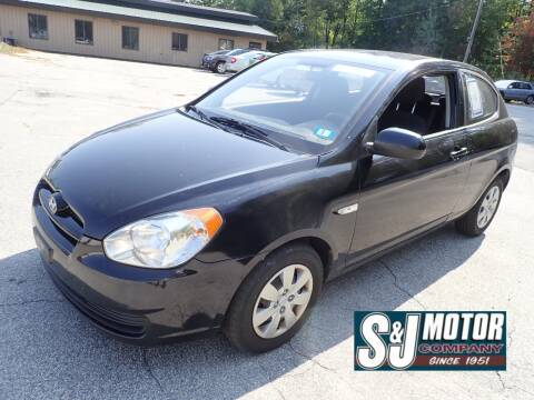 2010 Hyundai Accent for sale at S & J Motor Co Inc. in Merrimack NH