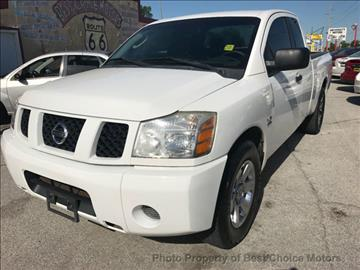 2004 Nissan Titan for sale at Best Choice Motors in Tulsa OK