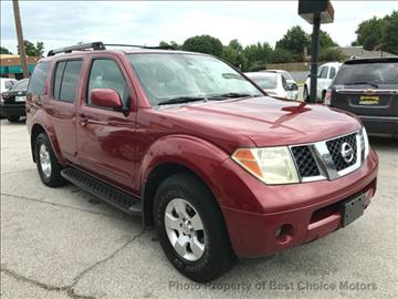 2006 Nissan Pathfinder for sale at Best Choice Motors in Tulsa OK