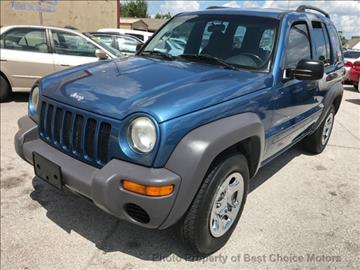 2003 Jeep Liberty for sale at Best Choice Motors in Tulsa OK
