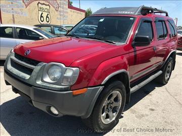 2003 Nissan Xterra for sale at Best Choice Motors - Cash Lot in Tulsa OK