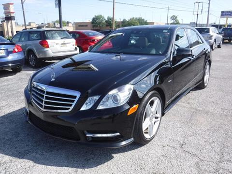 2012 Mercedes-Benz E-Class for sale at Best Choice Motors in Tulsa OK