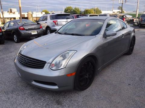 2005 Infiniti G35 for sale at Best Choice Motors in Tulsa OK