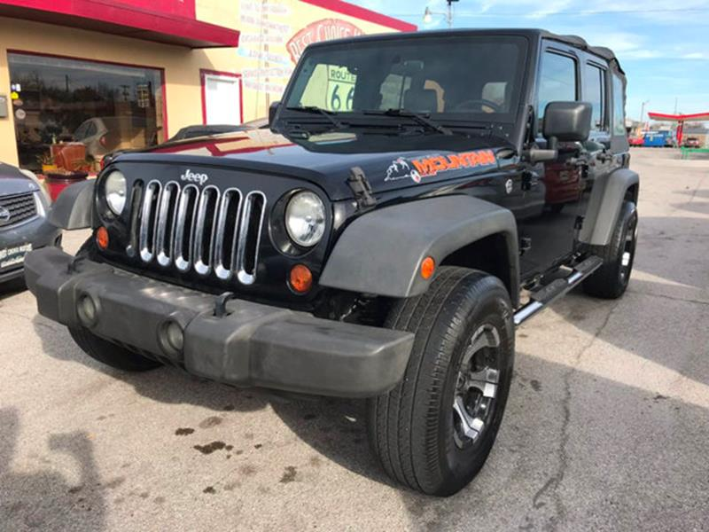 2007 jeep wrangler unlimited x in tulsa ok best choice motors. Black Bedroom Furniture Sets. Home Design Ideas