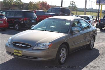 2003 Ford Taurus for sale at Best Choice Motors - Cash Lot in Tulsa OK