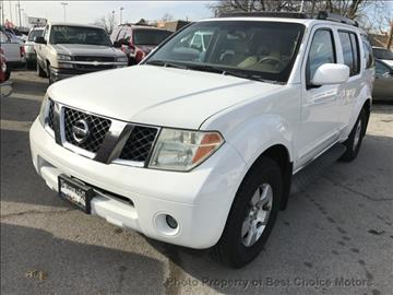 2005 Nissan Pathfinder for sale at Best Choice Motors in Tulsa OK
