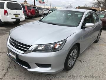 2013 Honda Accord for sale at Best Choice Motors in Tulsa OK