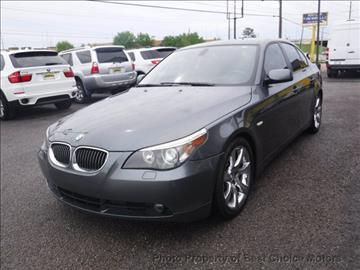2007 BMW 5 Series for sale at Best Choice Motors in Tulsa OK