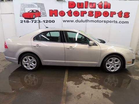 2010 Ford Fusion for sale in Duluth, MN
