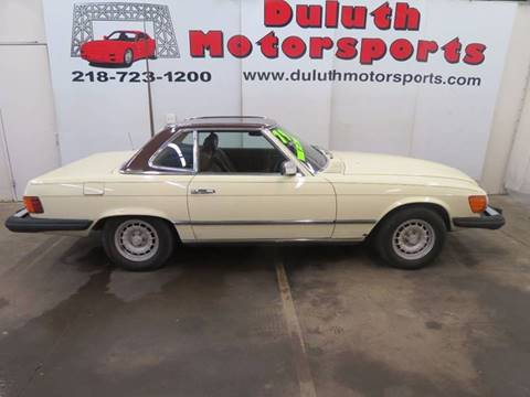 1979 Mercedes-Benz 450 SL for sale in Duluth, MN